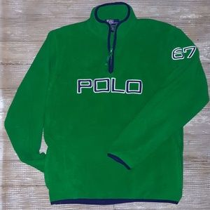 Ralph Lauren Polo YOUTH fleece pullover large